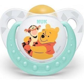 Nuk Trendline Disney Winnie the Pooh Πιπίλα Καουτσούκ Πράσινο 18-36m 10.737.806
