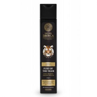 Natura Siberica Men Energy Shampoo for Body and Hair Fury of the Tiger 250ml