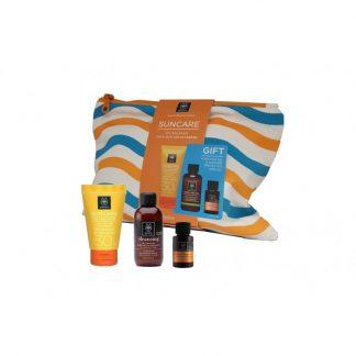 Apivita Suncare Προσώπου κατά της Λιπαρότητας SPF30 50ml & Δώρο Gel Καθαρισμού 75ml & Αντηλιακό Λάδι Μαλλιών 20ml