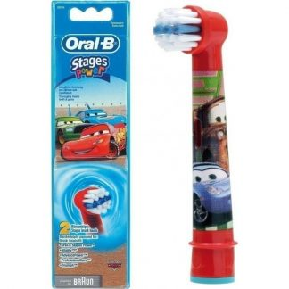 Oral-B Ανταλλακτικές Κεφαλές Παιδικές Cars 2τμχ