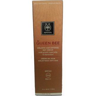 Apivita Queen Bee Κρέμα Ημέρας Ολιστικής Αντιγήρανσης SPF20 15ml