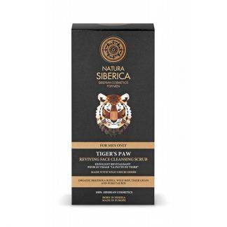 Natura Siberica Αναζωογονητικό Καθαριστικό Scrub Προσώπου Tiger's Paw 150ml