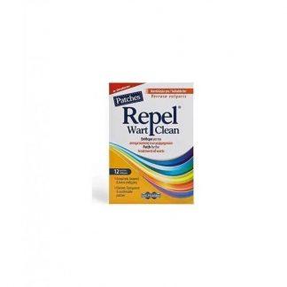 Uni-Pharma Repel Wart Clean 12 Επιθέματα