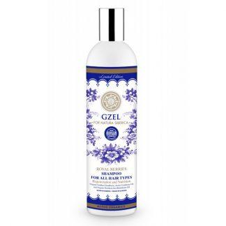 Natura Siberica GzelRoyal Berries hair shampoo Αναγγένηση & Θρέψη για Όλους τους Τύπους 400ml