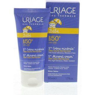 Uriage Baby 1st Mineral Cream SPF 50+ 50ml
