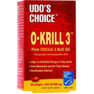Flora Udo's Choice O-Krill 3 60softgels