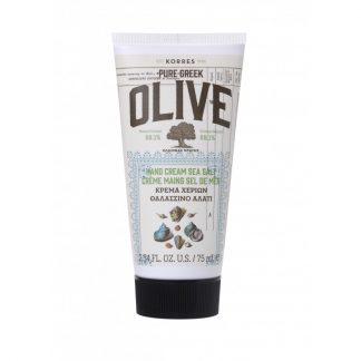 Korres Pure Greek Olive Hand Cream Θαλασσινό Αλάτι 75ml