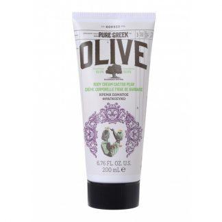 Korres Pure Greek Olive Body Cream Φραγκόσυκο 200ml