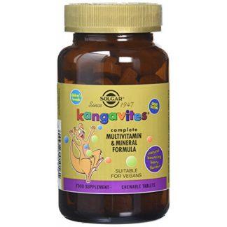 Solgar Kangavites Multivitamin & Mineral Formula Bouncing Berry 7 μασώμενα δισκία