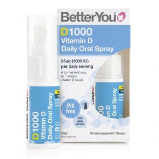 BetterYou Dlux Spray Vitamin D 1000IU 15ml
