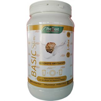 Prevent Basic Slim Long Box Μπισκότο Αμυγδάλου 581gr