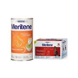 Nestle Meritene Δύναμη και Τόνωση Γεύση Φυσική 270gr & Δώρο Meritene Vitachoco 30 X 5gr
