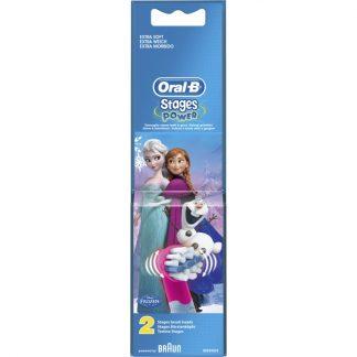 Oral-B 2 Ανταλλακτικά Kids Power Frozen