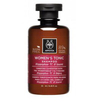 Apivita Women's Tonic Σαμπουάν κατά της Γυναικείας Τριχόπτωσης με Hippophae TC & Δάφνη 20ml