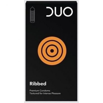 Duo Ribbed για μέγιστη απόλαυση 6τμχ