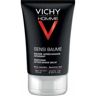 Vichy Homme Sensi Baume After Shave για Μετά το Ξύρισμα κατά των Ερεθισμών 75ml