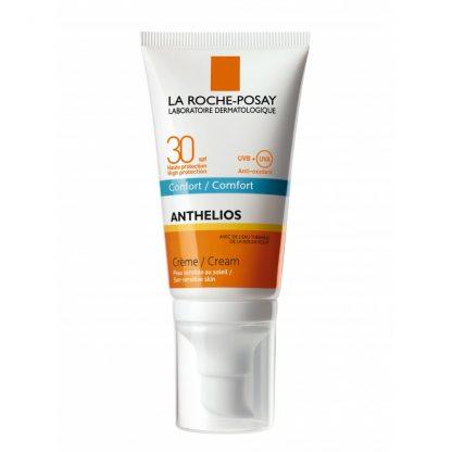 La Roche Posay Anthelios SPF30 Comfort Ενυδατική & Αντιηλιακή Κρέμα Προσώπου 50ml