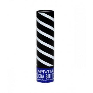 Apivita Lip Care Stick με Βούτυρο Κακάο SPF20 4,4gr